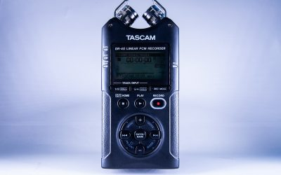 How to use the Tascam DR-40