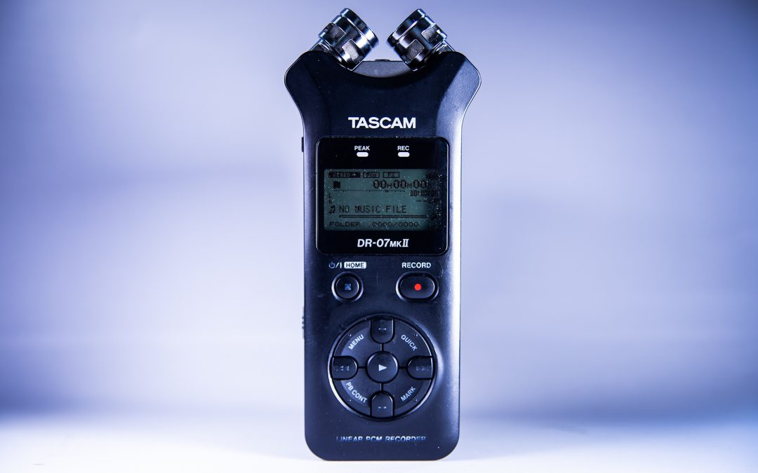 How to use a Tascam DR-07